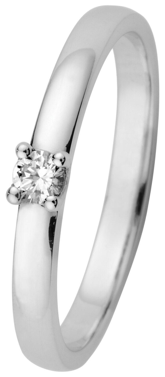 Estelle yksikivinen timanttisormus