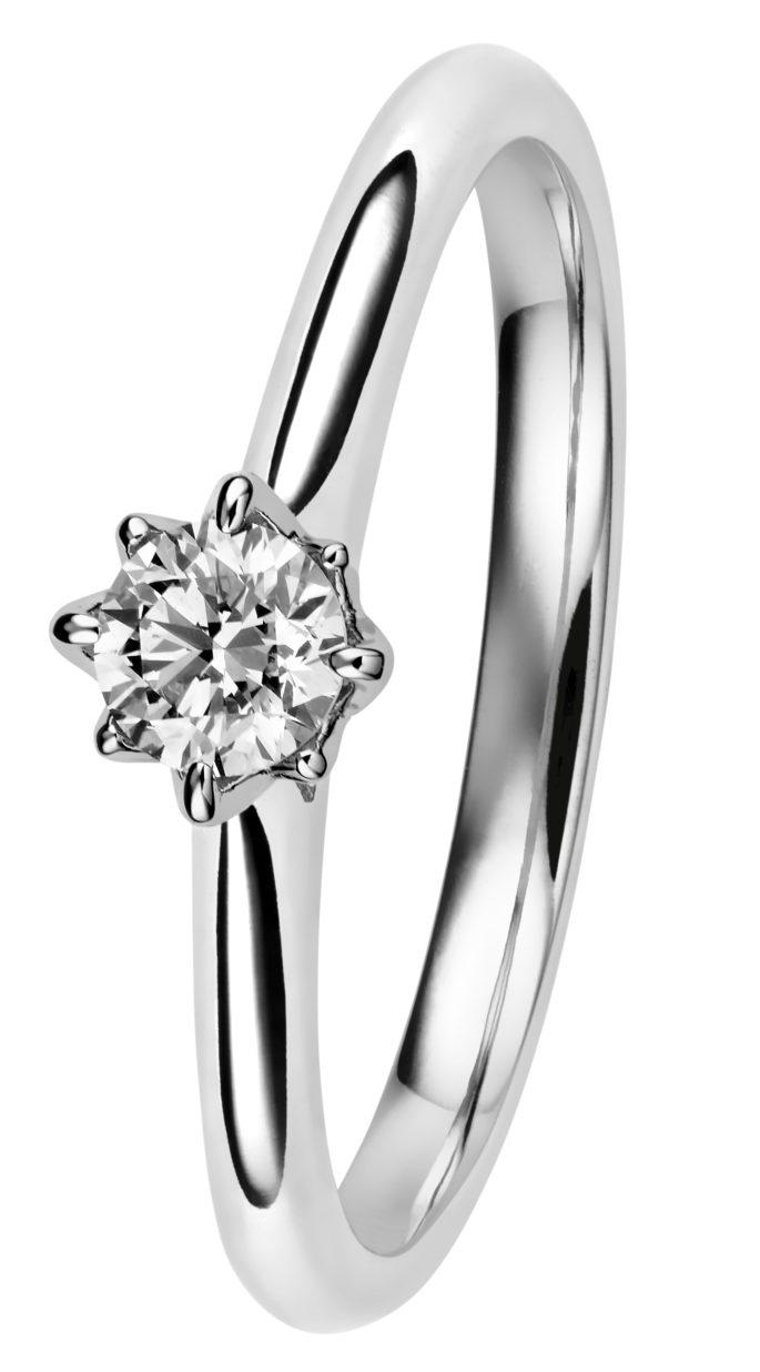 0,23 karaatin Rosa on kaunis vihkisormusvalinta, jos etsii kaunista ja pelkistettyä tyyliä.