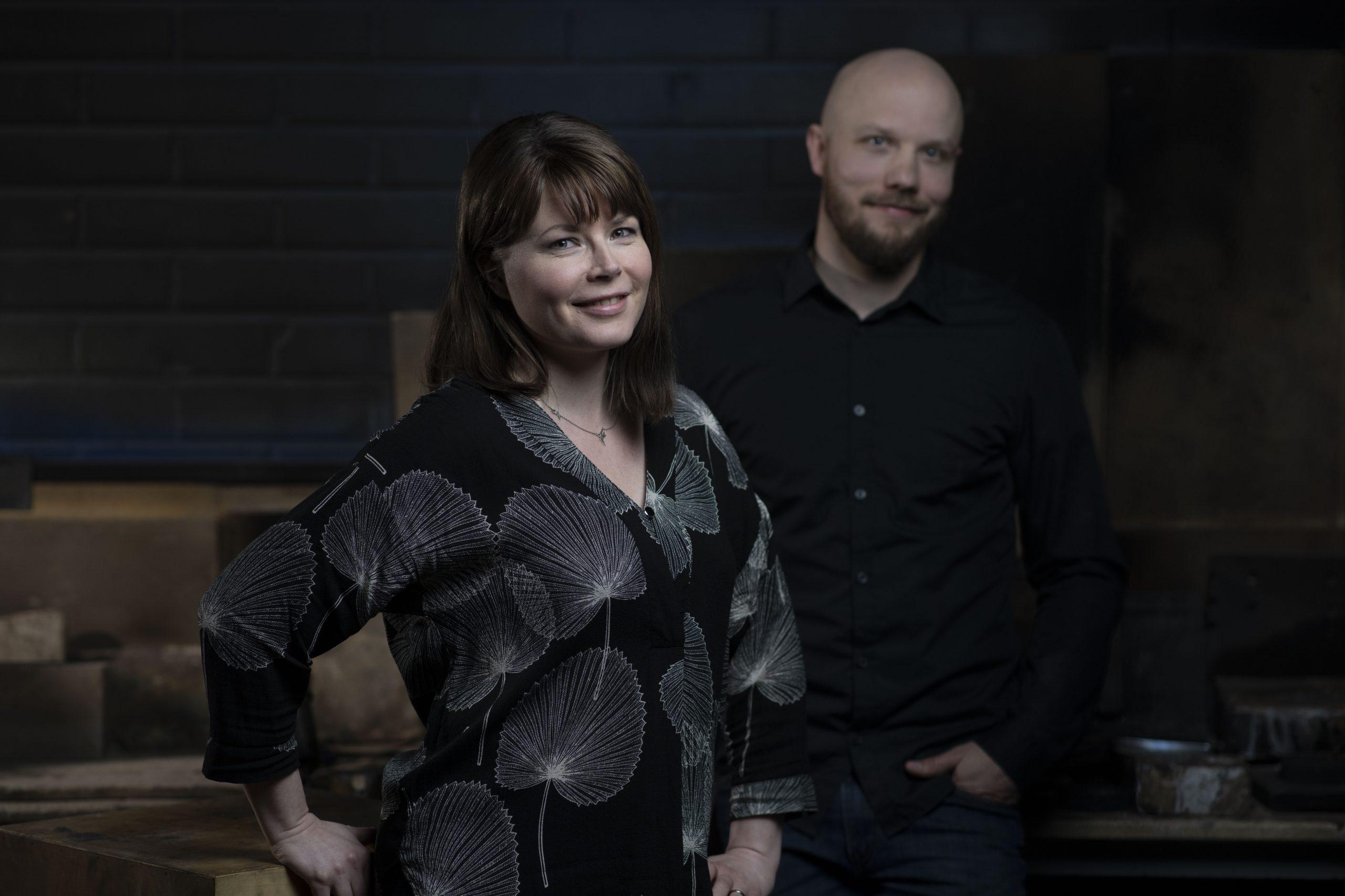 Assi Arnimaa ja Sami Laatikainen