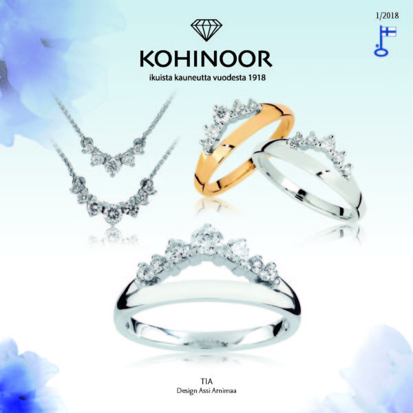 Kohinoor-timanttikorut 2018 kuvasto on ilmestynyt!